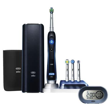 braun oral  electric toothbrush platinum black