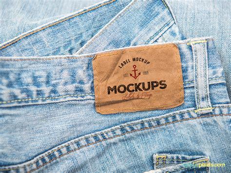 design label jeans 25 best free label mockups for your inspiration to design
