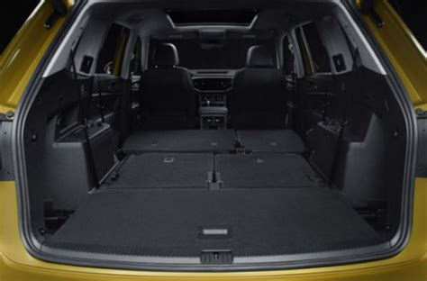 volkswagen atlas interior seating seating capacity and cargo space for the 2018 volkswagen atlas
