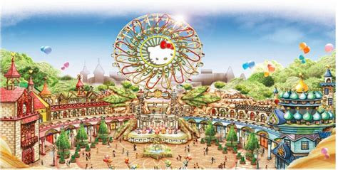 list theme parks china hello kitty park in china is set to open on new year s
