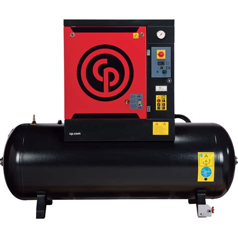 free shipping chicago pneumatic rotary air compressor model qrs15hp northern