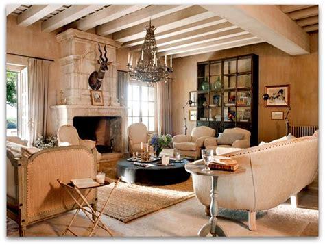 Interior Country Homes | art symphony french country house interior