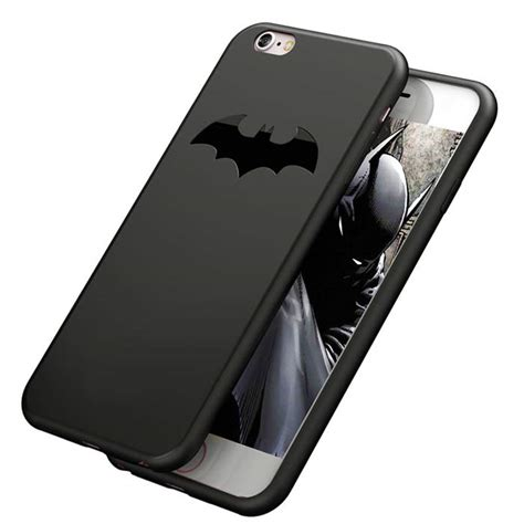 Casing Iphone 6 6s Plus Matte Black Batman Corner batman arkham iphone cover minimalistic