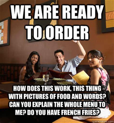 Funny Restaurant Memes - restaurant server memes