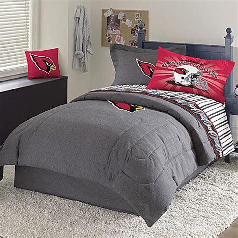 nfl bedding sets nfl arizona cardinals queen comforter set bed bath beyond