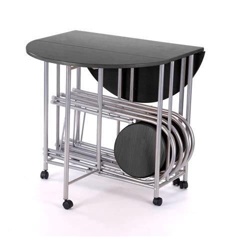 Drop Leaf Table And Folding Chairs Product Description