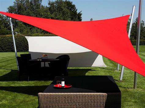 Tenda Parasol luxury umbrellas ingenua 16 5 triangular anodized aluminum shade sail patio umbrella lminkitt50