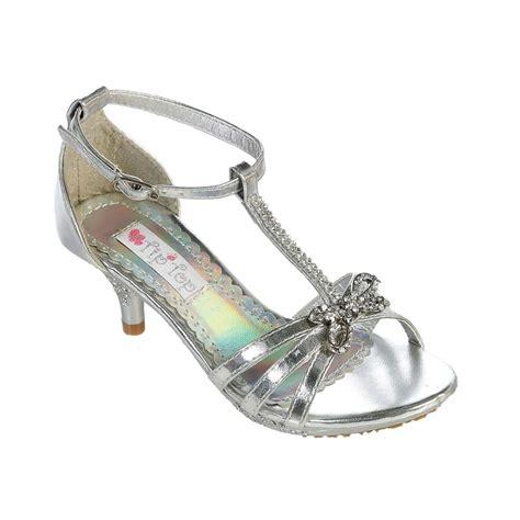 gold silver white fancy rhinestone dress shoes pageant flower wedding ebay