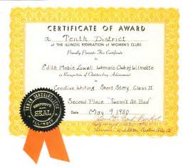 Spot Award Certificate Template by Guest Post By My Grandmother Edith Lawall Twasn T All