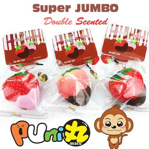 Soft And Slowrise Squishy Jumbo Strawberry Yummiibear reproduced ultra squishy puni maru jumbo choc