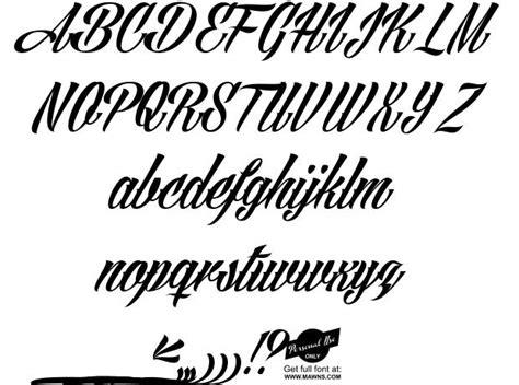 tattoo fonts tester angilla font by m 229 ns greb 228 ck fontriver