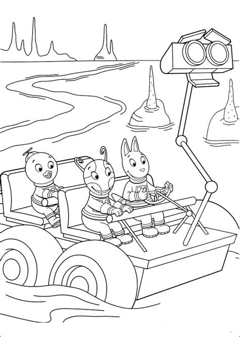 backyardigans coloring pages getcoloringpagescom