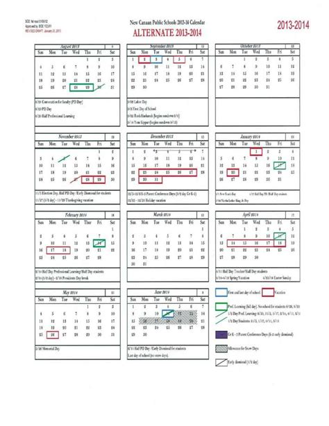 Columbus Schools Calendar New Canaan Boe Considers Eliminating Feb Next Year