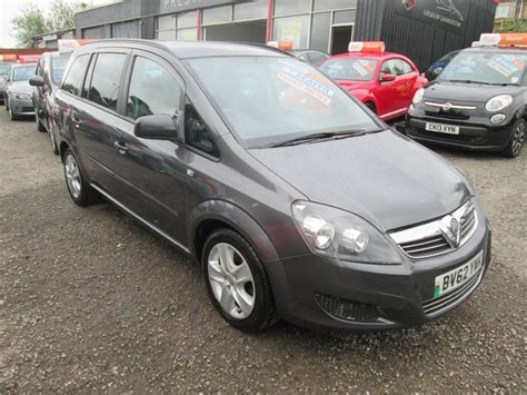 vauxhall grey used grey vauxhall zafira for sale torfaen