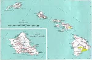 hawaii outline maps and map links