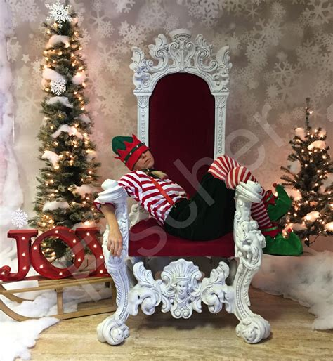 Set Santa waiting for santa my set up for santa picture in my s