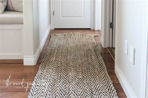 Hallway Mats And Rugs by New Hallway Rug The Wood Grain Cottage