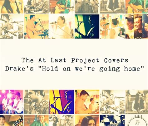 at last project hold on we re going home cover decibel