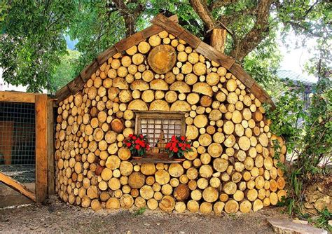 Cordwood Construction ? Nifty Homestead