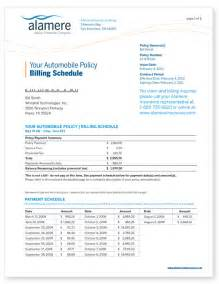 How To Make Car Insurance Papers - best photos of car insurance bill template state farm