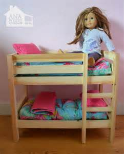 american doll bunk bed american bunk bed plans bed plans diy blueprints