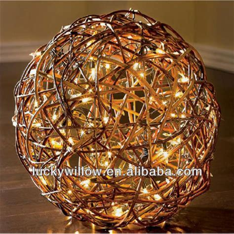 large light balls wholesale waterproof large wicker with led light buy wicker balls large decorative balls