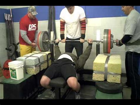 what is a good bench press max sponge bob press max effort bench workout youtube