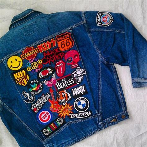 Patches Denim Size Sml patched denim reworked vintage denim jacket with patches size m denim jackets