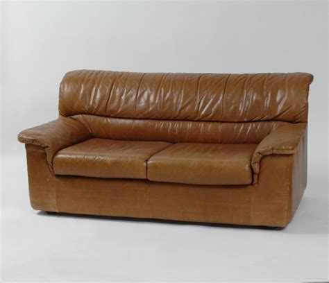 The Leather Factory Sofa by Retrofactory Leather Sofa