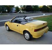 1992 Geo Metro  Company Had Employees Me Drive These Around In This