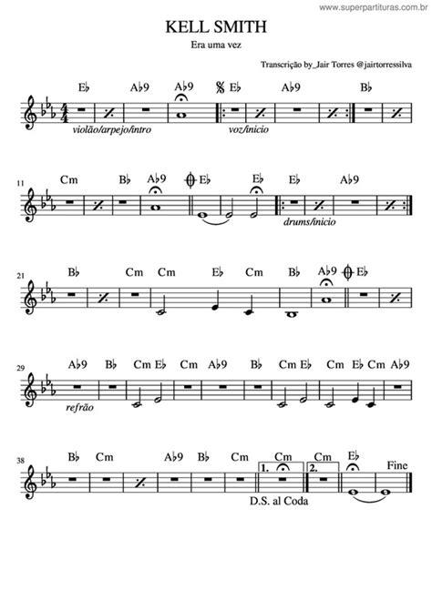 Super Partituras - Músicas de Kell Smith