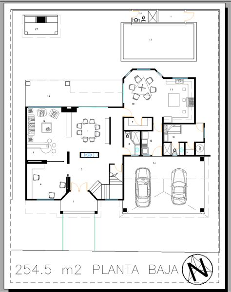 layout en autocad layout marce garal architecture page 3