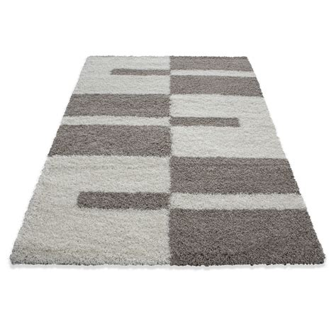 tappeti shaggy tappeti shaggy shaggy strisce gray green rosso beige