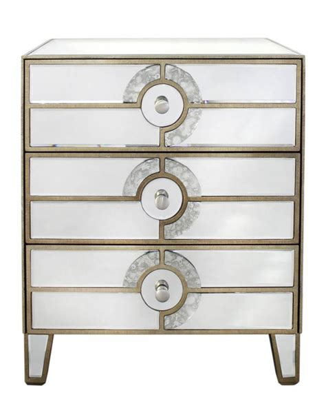 Antique Mirrored Chest Of Drawers by Antique Mirrored Chest Of Drawers By Out There Interiors Notonthehighstreet