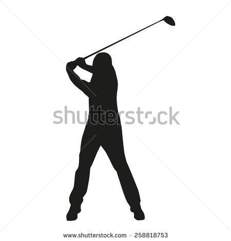 golf swing silhouette golf swing silhouette pictures to pin on pinterest pinsdaddy