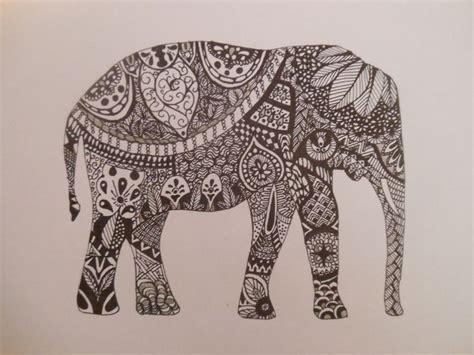 aztec elephant tattoo aztec elephant painting inspiration