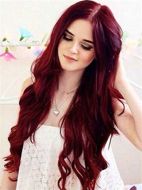 red hair styles for summer red color hair long hairstyles 2015 long haircuts 2015