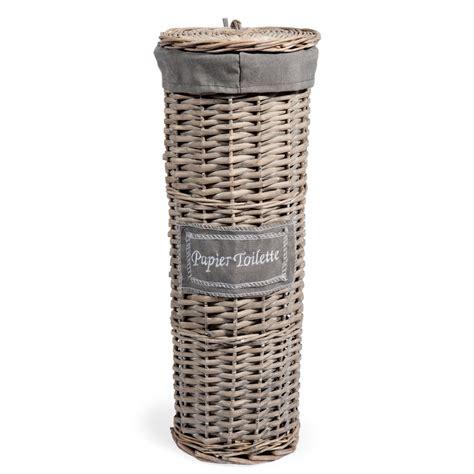 Paper Basket - woven toilet paper basket h 47cm maisons du monde
