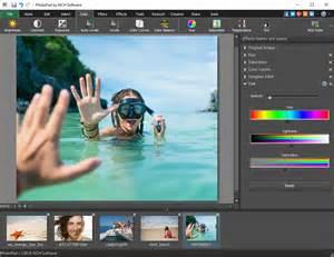 Free Photo Editing Software Photopad Screenshots