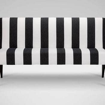 black and white striped bench blue striped white linen bench