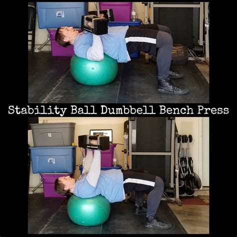 stability ball bench press roy pumphrey com intelligent training for sport work