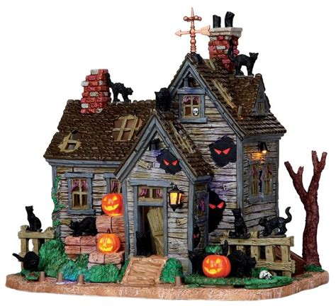 lemax halloween houses pin by stacy morgan on villages pinterest