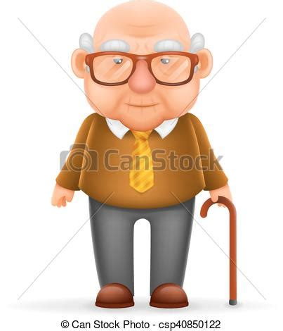 Home Design 3d Save by Old Man Grandfather 3d Realistic Cartoon Character Design