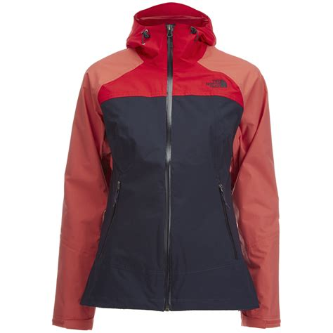 stratos boats clothing the north face women s stratos jacket urban navy