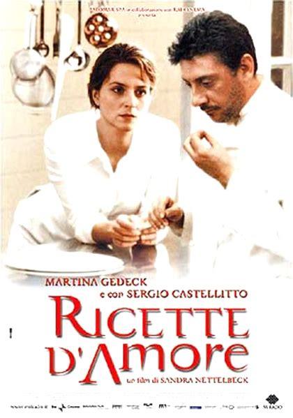 film epici d amore ricette d amore 2001 mymovies it