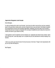 Business Letter Writing Basics 8 Appreciative Resignation Letters Free Sample Example Format Download Free Amp Premium