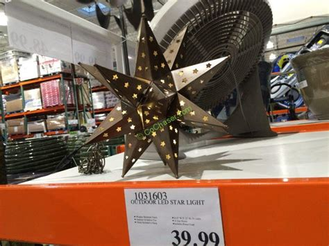 costcos lighted star 2015 outdoor led light costcochaser