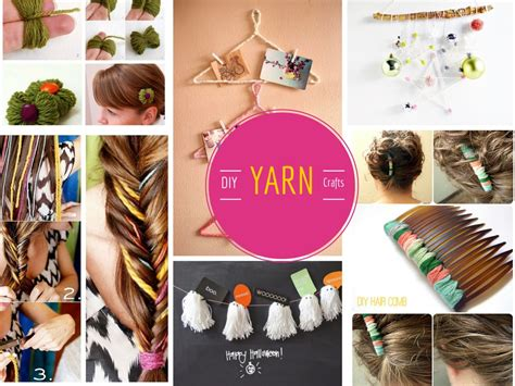 diy crafts with 12 cool and lovable diy yarn crafts projects part 1
