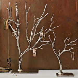 cast metal jewelry tree west elm