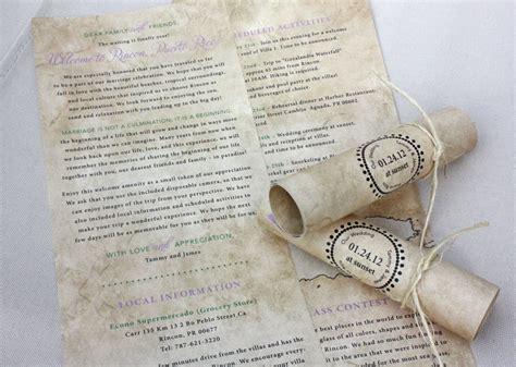 treasure map wedding invitations antique treasure map inspired destination wedding